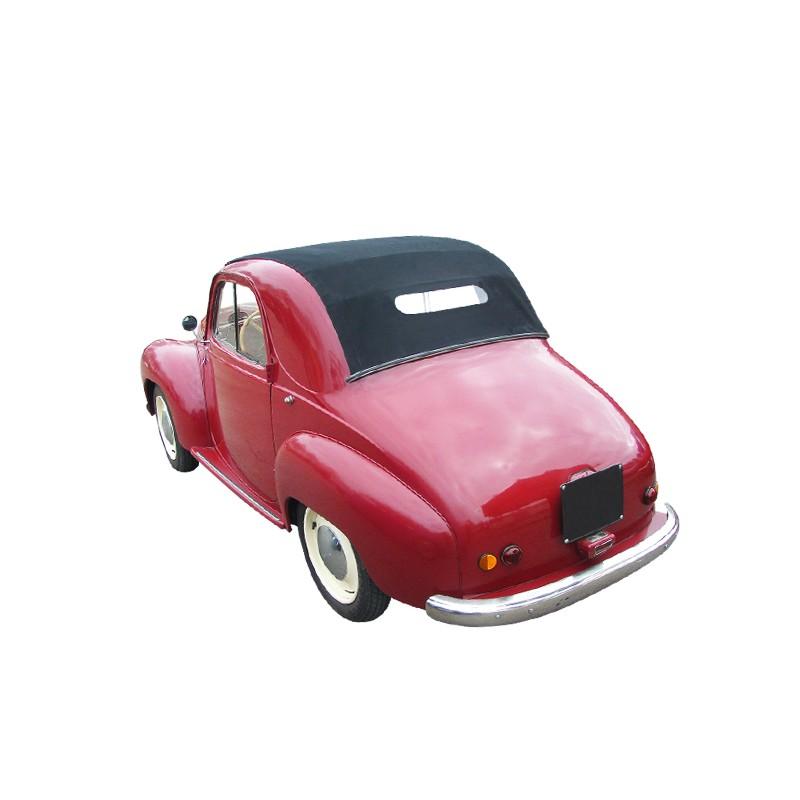 capote simca 6 cabriolet en vinyle sur toile coton. Black Bedroom Furniture Sets. Home Design Ideas