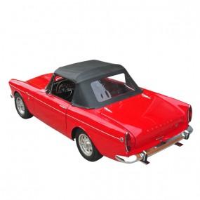 Capote Sunbeam Alpine série 4 cabriolet en vinyle grain cuir