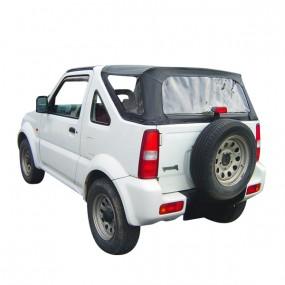 Capote 4x4 Suzuki Jimny cabriolet en vinyle grain cuir en 3 parties