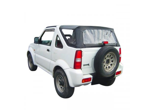 capote vinyle jimny cabriolet capote en vinyle pour 4x4 suzuki jimny. Black Bedroom Furniture Sets. Home Design Ideas