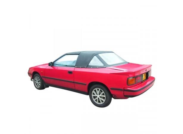 Capote auto Toyota Celica T16 Targa en Vinyle avec lunette arrière en PVC
