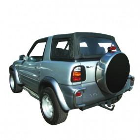 Bâche (capote) 4x4 Toyota Rav 4 cabriolet en Alpaga Stayfast - noire