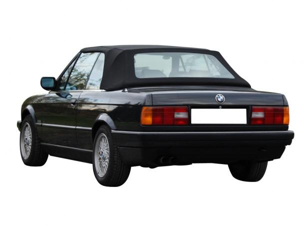 Capotes auto Bmw E30 cabriolet en Alpaga Twillfast II avec lunette arriere en PVC