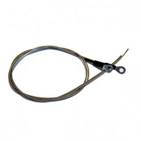 Paire câbles latéraux de tension pour capote de cabriolet Mercedes 280 SL à 500 SL type R107