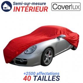 Housse protection auto intérieure semi-sur-mesure en Jersey - Coverlux