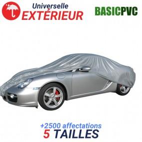 Housse protection auto extérieure universelle en PVC - BASIC PVC