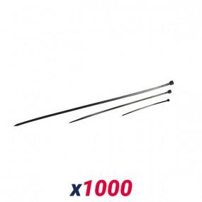 Colliers de serrage en nylon (1000 pièces)