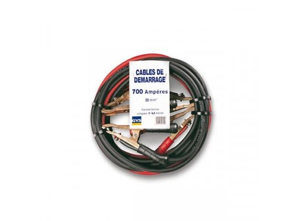 Câbles de démarrage professionnels 35mm²/700A (753/C700A)