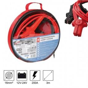 Câbles de démarrage professionnels 16mm²/200A