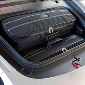 Bagagerie sur-mesure cuir pour Porsche Cayman 718