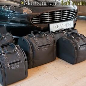 Bagagerie sur-mesure cuir pour Aston Martin DBS coupé
