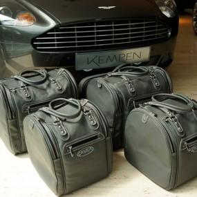 Bagagerie sur mesure cuir pour Aston Martin DB9 Volante cabriolet - Luxe