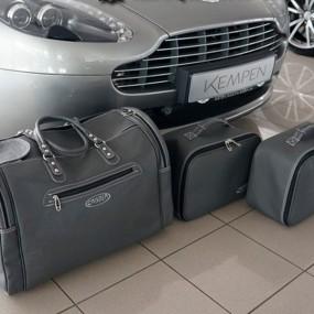 Bagagerie sur mesure cuir pour Aston Martin V8 Vantage Roadster