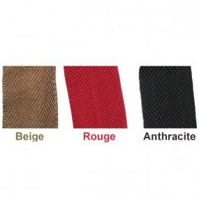 Bordure de moquette en coton pour tapis de cabriolets