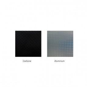 Simili cuir Carbone/Aluminium