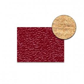 Revêtement Vinyle granité rouge sur feutre