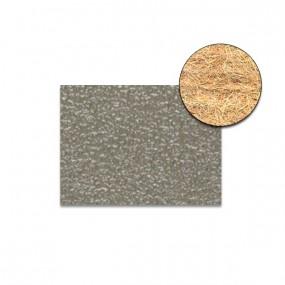 Revêtement Vinyle granité gris clair sur feutre