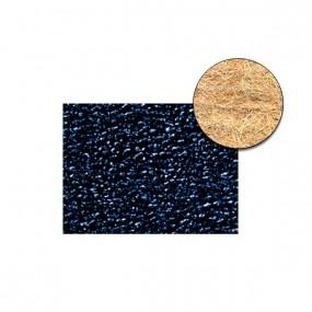 Revêtement Vinyle granité bleu foncé sur feutre