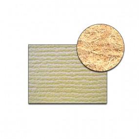 Revêtement Vinyle strié côtelé beige sur feutre