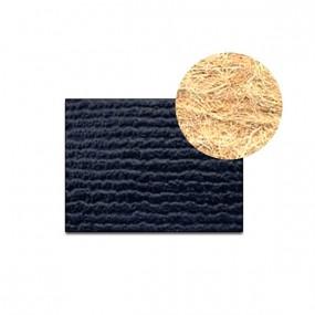 Revêtement Vinyle strié côtelé bleu foncé sur feutre