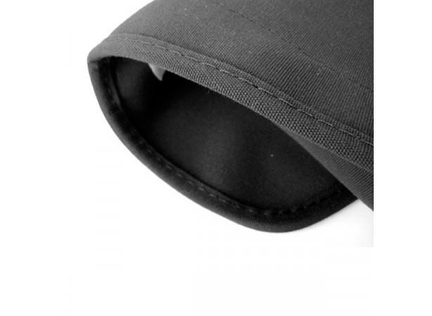 Bordure de capote alpaga noir