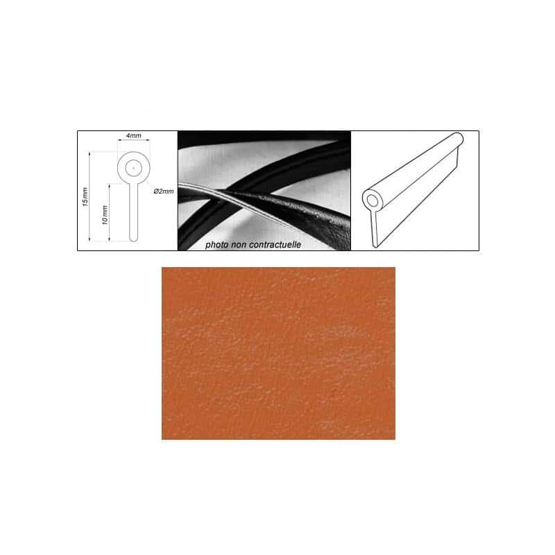 passepoil r alis avec le simili tabac grain fin auto extensible. Black Bedroom Furniture Sets. Home Design Ideas