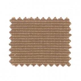 Tissus pied de poule petit grain marron en 135 cm - Ref: 23866/MA