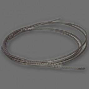 Câble de frein à main en inox diamètre 4mm