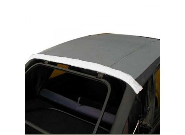 Enveloppe de matelassure pour capote Volkswagen Golf 1 et 2 cabriolet