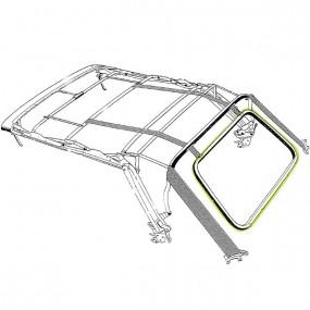 Joint de lunette arrière pour Volkswagen Golf 1 cabriolet