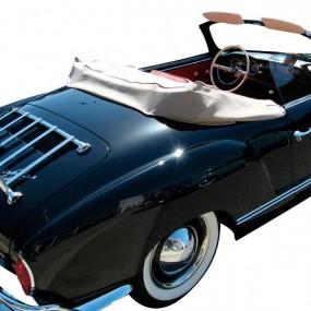 Couvre-capote en Alpaga Karmann Ghia cabriolet (Lunette souple)
