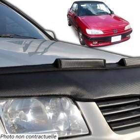 Protection de capot, bra pour Peugeot 306