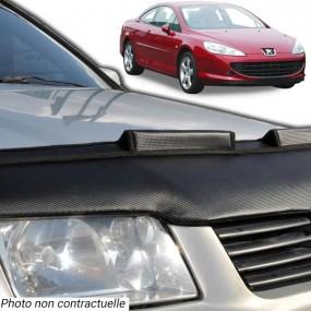 Protection de capot, bra pour Peugeot 407 coupé