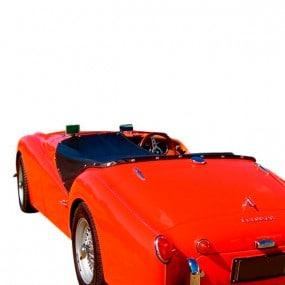Couvre-tonneau en Alpaga Triumph TR3A, TR3B cabriolet