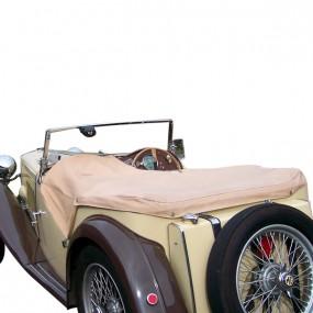 Couvre-tonneau en Alpaga pour cabriolet MG TC