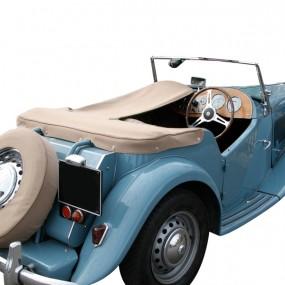 Couvre-tonneau en Alpaga pour cabriolet MG TD