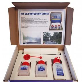 Kit de protection hydrophobe pour vitres