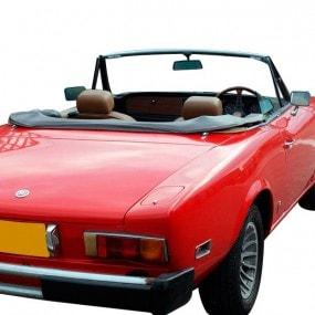 Couvre-capote en Alpaga Sonnenland Fiat 124 CS1 cabriolet