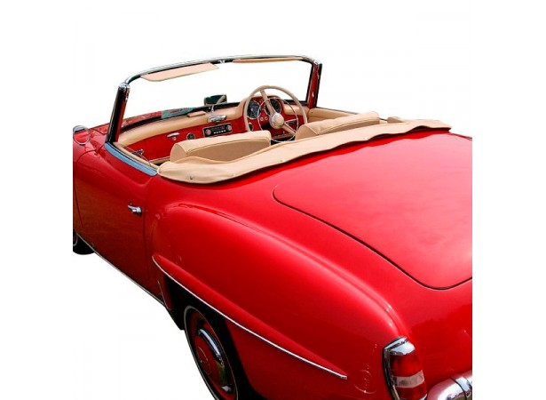 couvre capote en vinyle mercedes 190sl w121 cabriolet. Black Bedroom Furniture Sets. Home Design Ideas