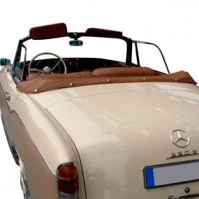 Couvre-capote en cuir Mercedes 220S/SE (W128) cabriolet