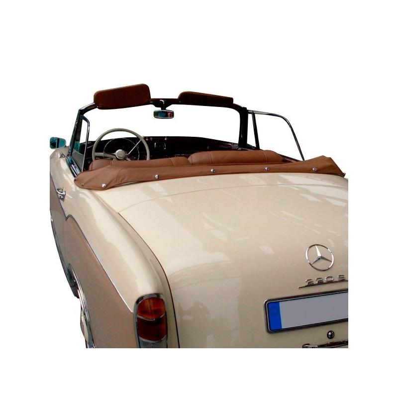couvre capote en cuir mercedes 220s se w128 cabriolet. Black Bedroom Furniture Sets. Home Design Ideas