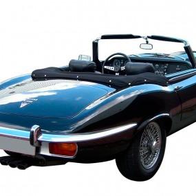 Couvre-capote en simili cuir Jaguar Type E / XKE cabriolet