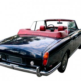 Couvre-capote en Cuir Rolls Royce Corniche cabriolet
