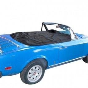 Couvre-tonneau en vinyle Fiat 124 CS1 Cabriolet