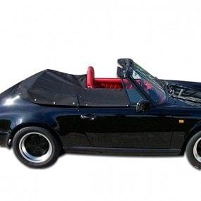 Couvre-tonneau en Alpaga Porsche 911 cabriolet capote manuelle