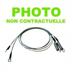 Câbles latéraux de tension pour capote de Chevrolet Camaro G4 cabriolet