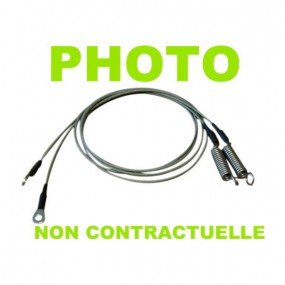 Câble latéral droit de tension pour Porsche 911 SC, Carrera cabriolet