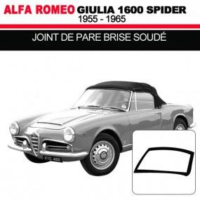 Joint de pare brise pour les cabriolets Alfa Romeo Giulia Spider 1600
