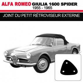 Joint du petit rétroviseur externe cabriolets Alfa Romeo Giulia Spider 1600
