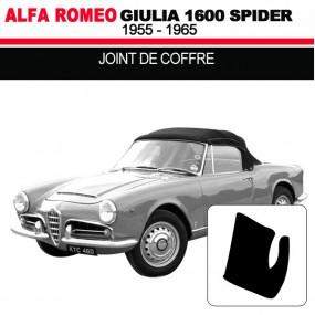 Joint de coffre cabriolets Alfa Romeo Giulia Spider 1600